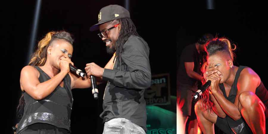 Lady Saw & Beenie Man. Photography by My Flash Photography