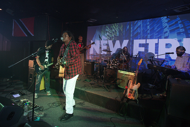 jointpop performs at the New Fire concert